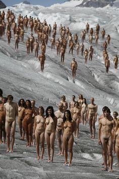 Spencer tunick nude girls
