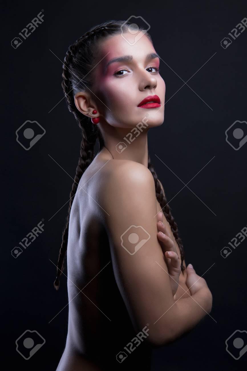 Sexy girls with braids