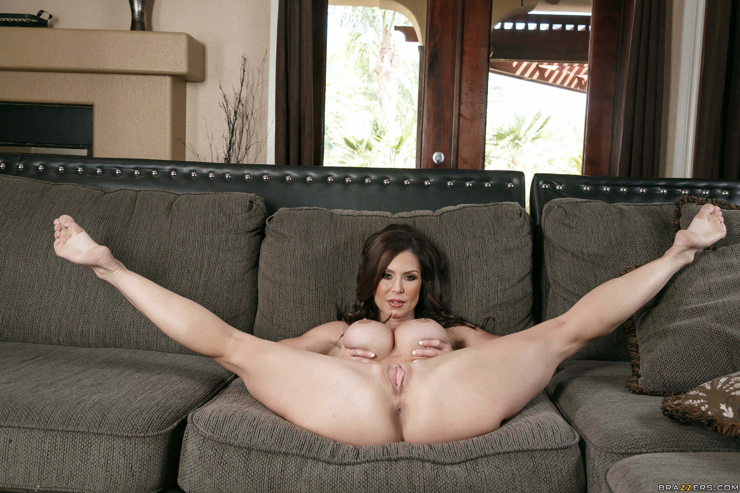 Young virgin with open legs
