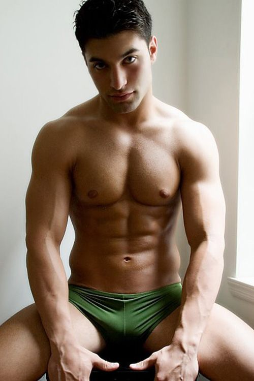 Hot men in underwear naked