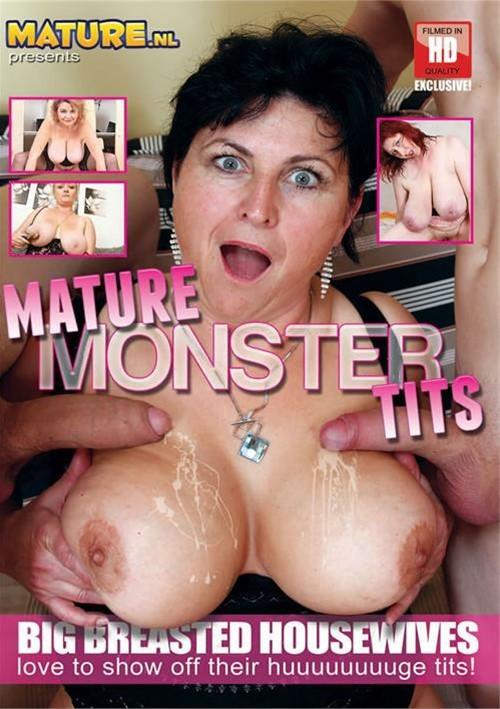 Mature big tits monster