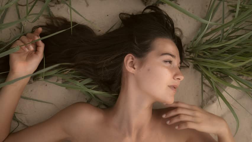 Black woman nude beach