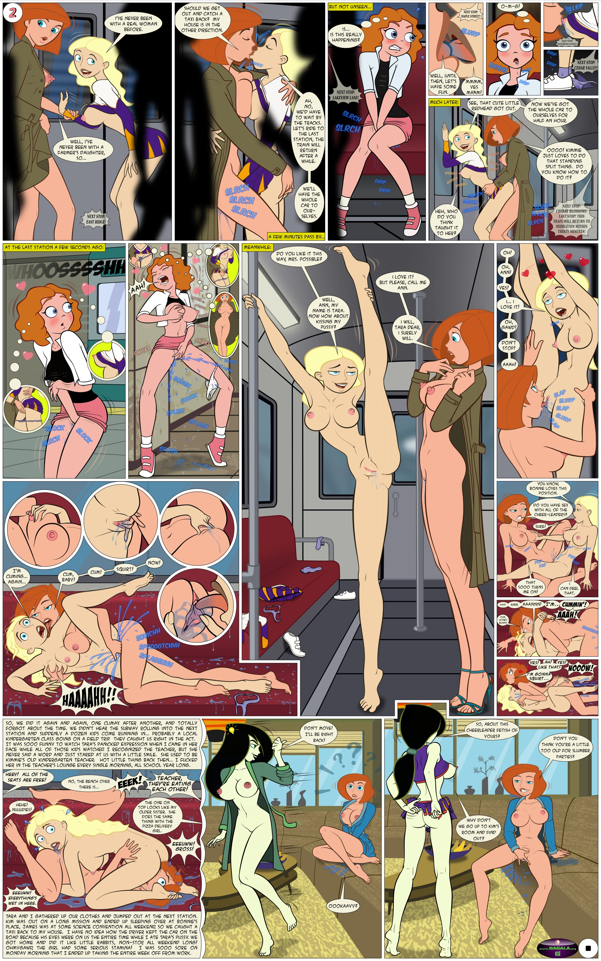 Kim possible porn comic