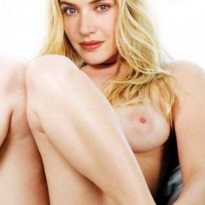 Beautiful naked blonde girls breasts