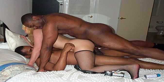 Sex black gangbang anal