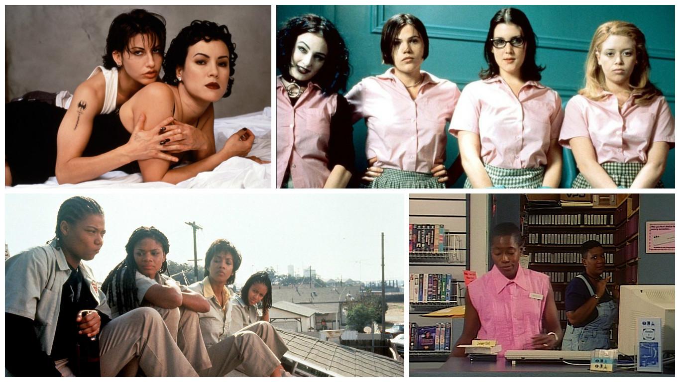 Best celebrity lesbian scenes