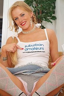 Suburban amateurs girl models