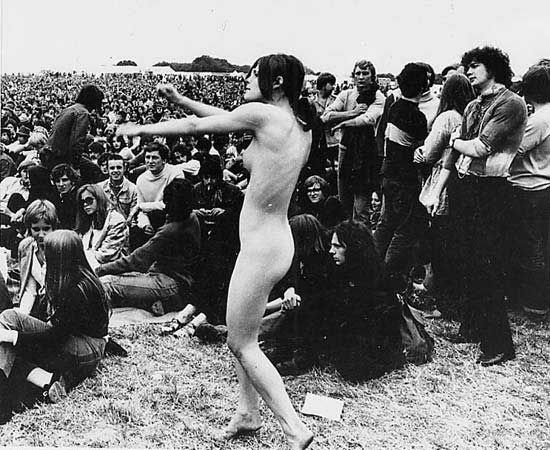 60s from naked hippies the