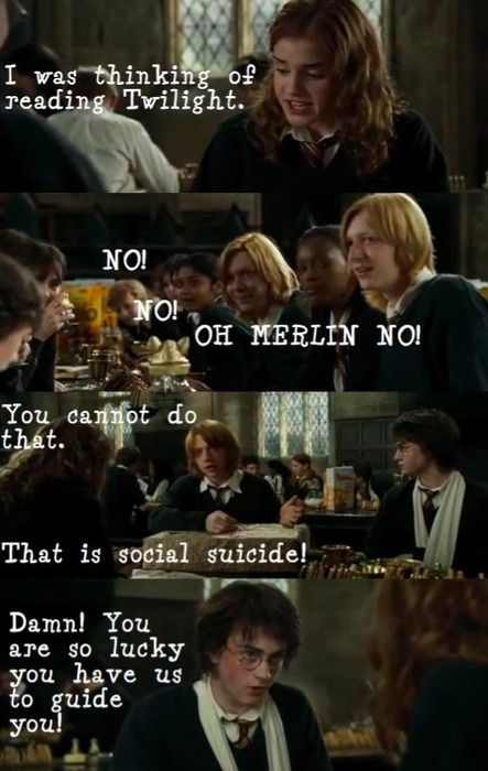 Funny harry potter mean girls