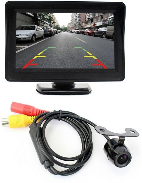 Rear view camera car