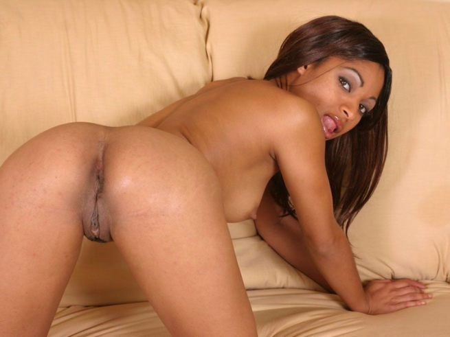Naked black girls pussy photo