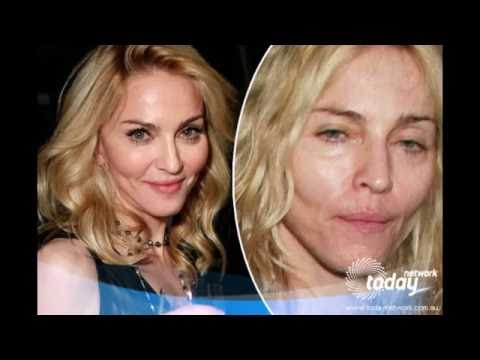 Madonna without make up