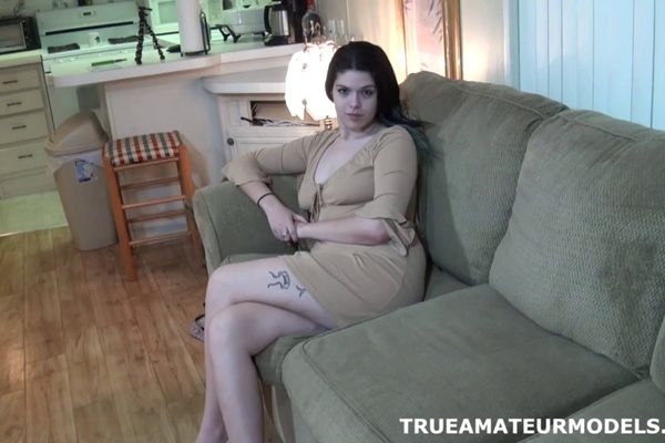 True amateur models spread ass