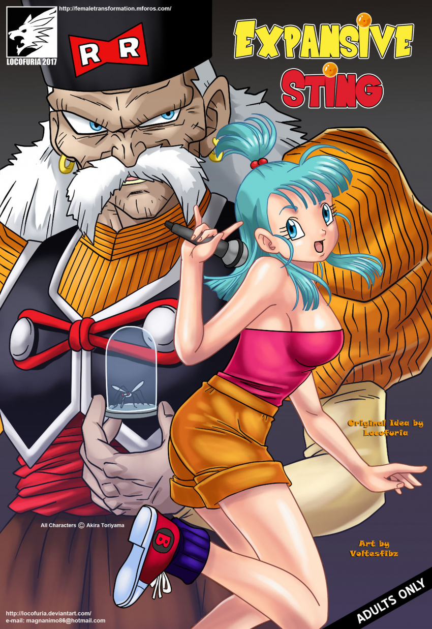 Comic xxx de dragon ball