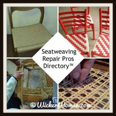 Cane chair bottom replacement