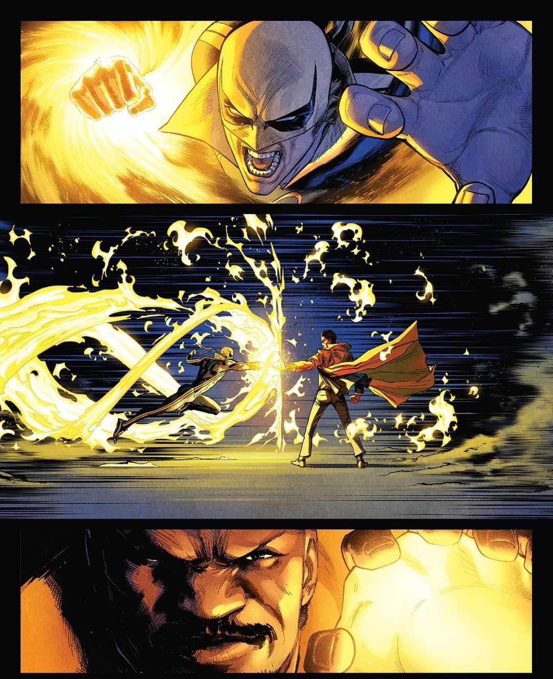 Iron fist vs daken