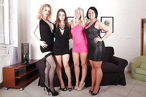 Hot naked women groups