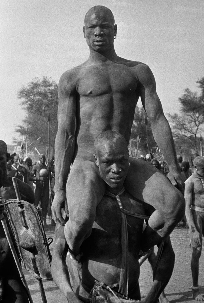 Image of naked sudan