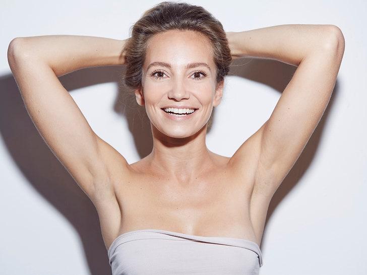 No armpit hair in women