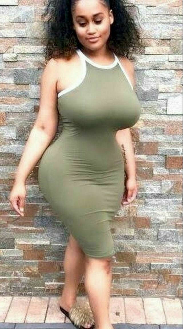 Beautiful black women with curves