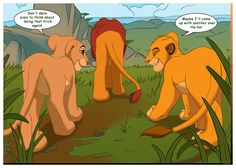 Simba lion king nala porn comic