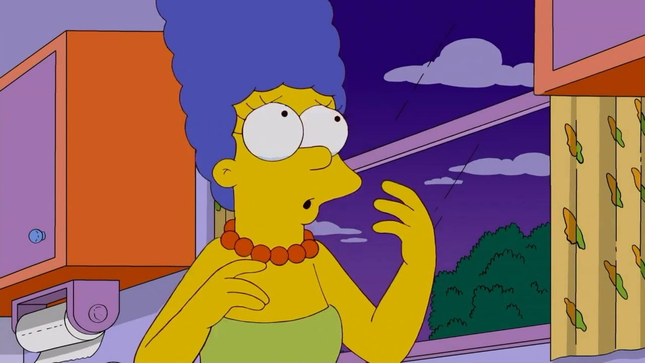 The simpsons marge naked