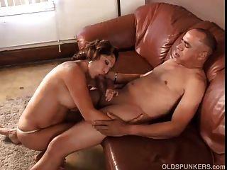 To granny eat cum love