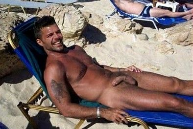 Naked picture of ricky martin