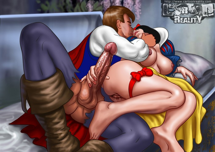 Snow white sucked by 7 draws xxx