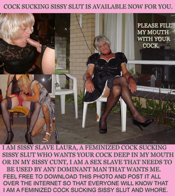 Sissy sex slave pet captions