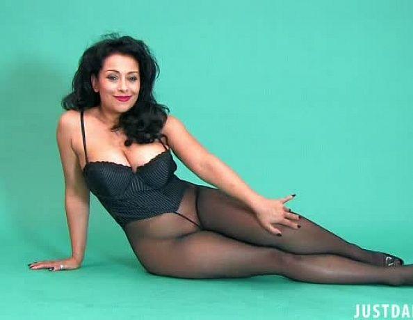 Danica collins pantyhose legs