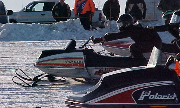 Ontario vintage snowmobile show