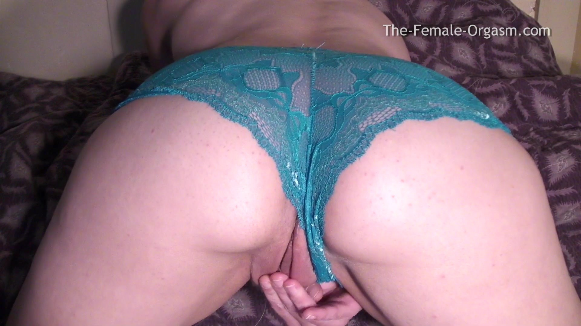 Pussy under lace panties
