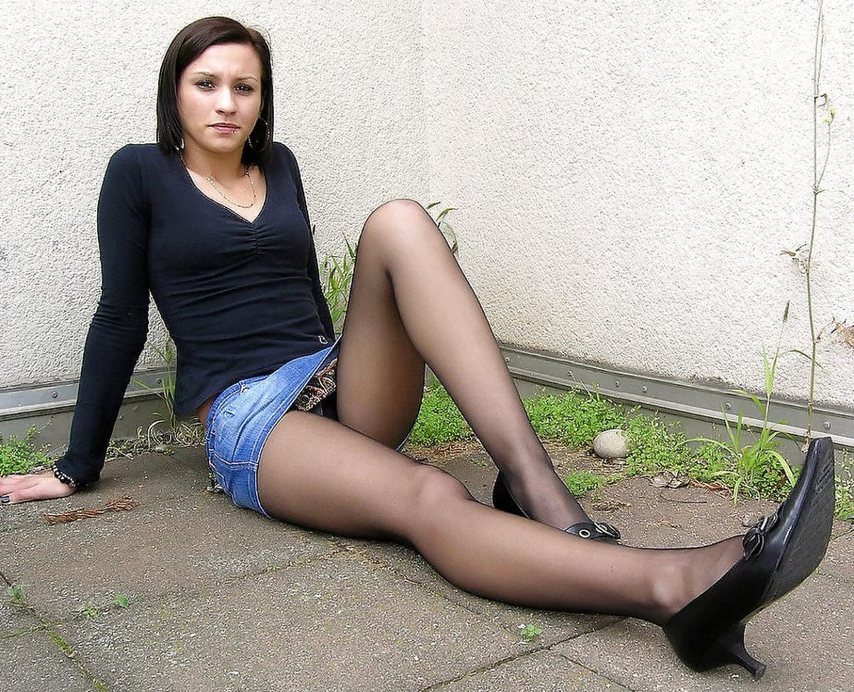 Ugly girls in pantyhose