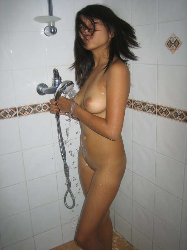 Hot naked asian girls shower