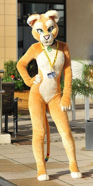 Furrys costume big boobs