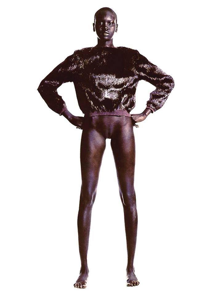 Image of naked sudan