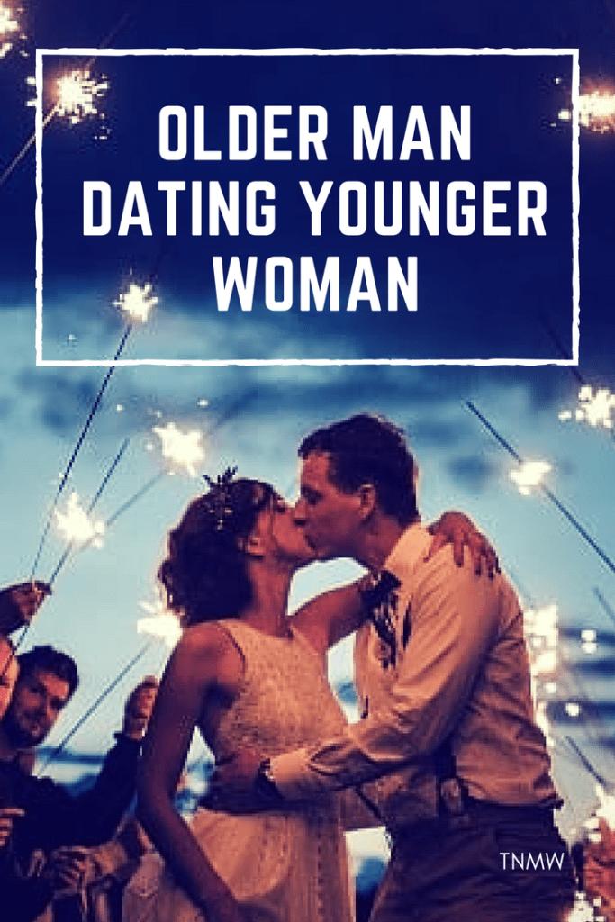 Adult older man yonger woman