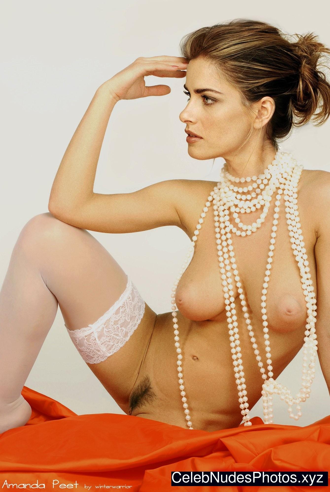 Amanda peet fake nude naked