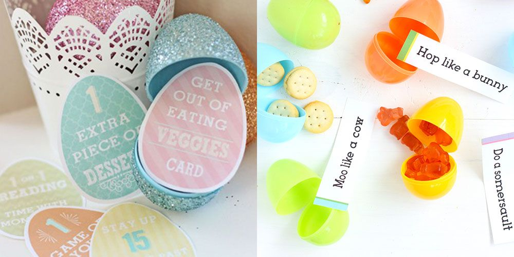 Ideas for plastic easter eggs for adults