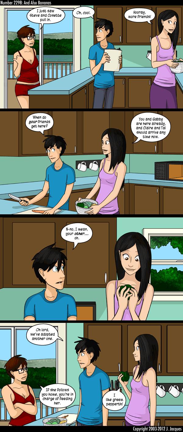 Questionable content teen girl