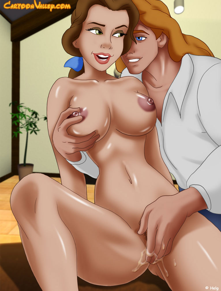 Beauty and the beast disney porn comics