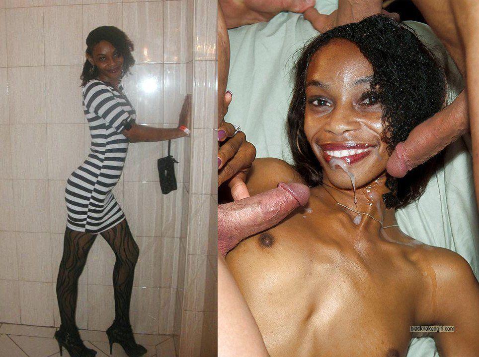 Ugly black girl naked