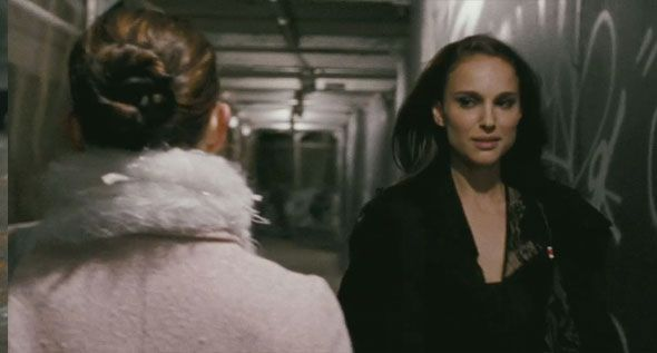 Natalie portman black swan lesbian scene