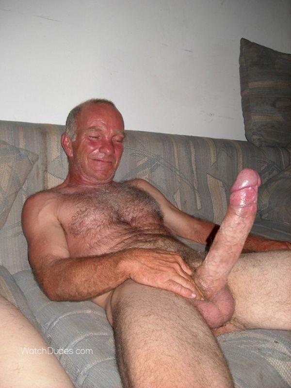 Straight older men nude