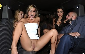 Showing pussy party porn