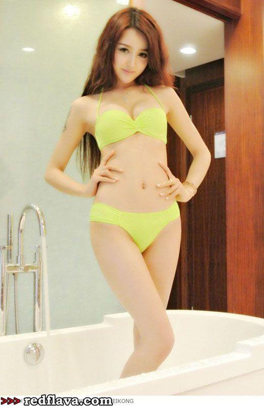 Girls asian riot bikini