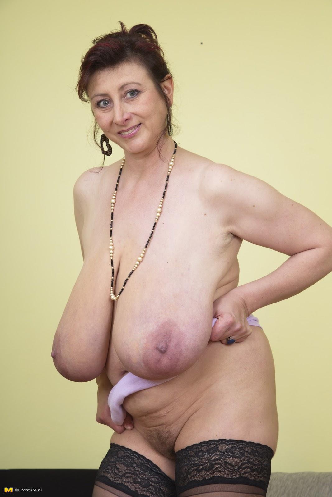 Big breasted mature grannies