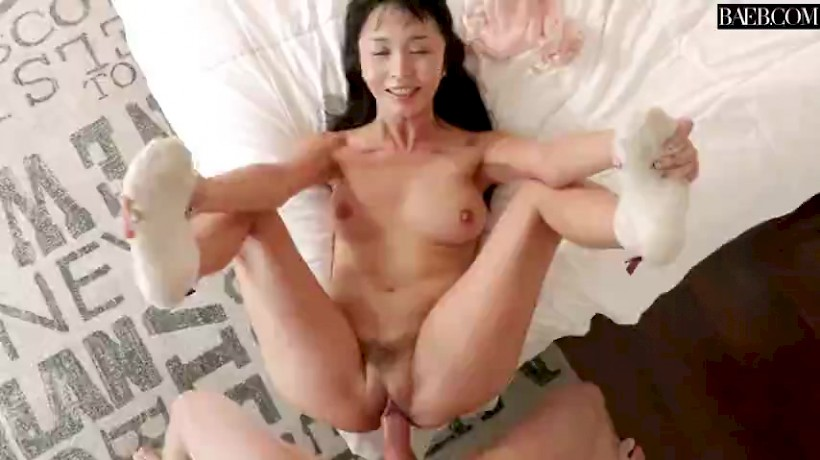 Cock big white asian girl