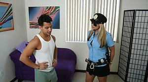 Camo bra and garter belt